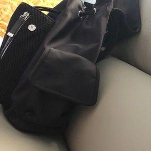 Calvin Klein Bags - Calvin Klein Black Nylon Backpack